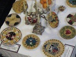Last Supper display